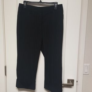 APT 9 MAXWELL streach capri dress pants